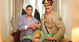 amir khan with army Chief
