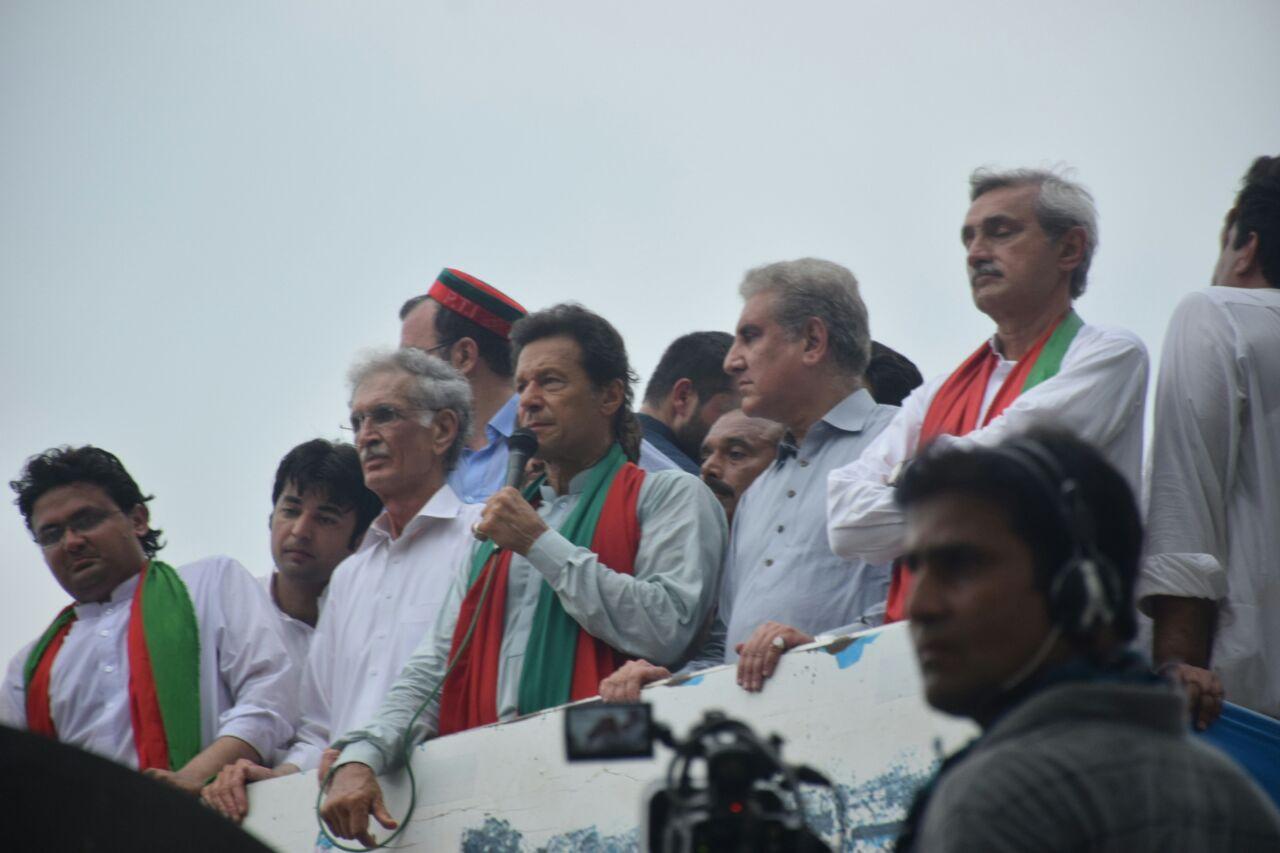 PTI's anti-government rally