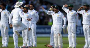 Pakistan test with England