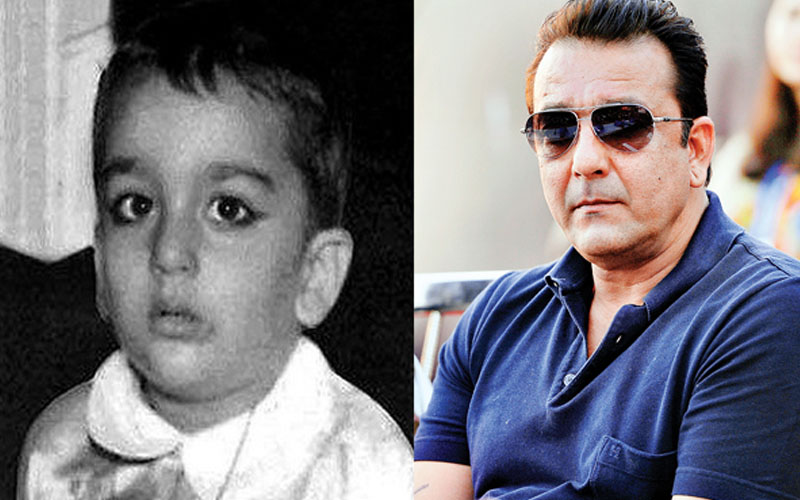 10 Photos Of Bollywood Celebrities In Their Childhood And Now
