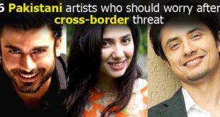 Pakistani artists being threatened in India