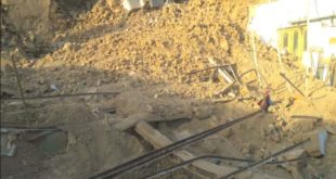 roof collapse in Khyber Agency