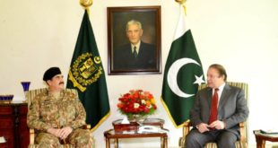 army chief with prime minister