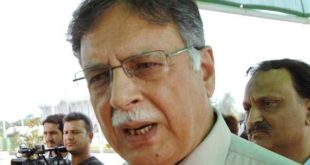 Pervaiz Rasheed resigns