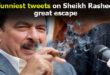 Sheikh Rasheed Tweet