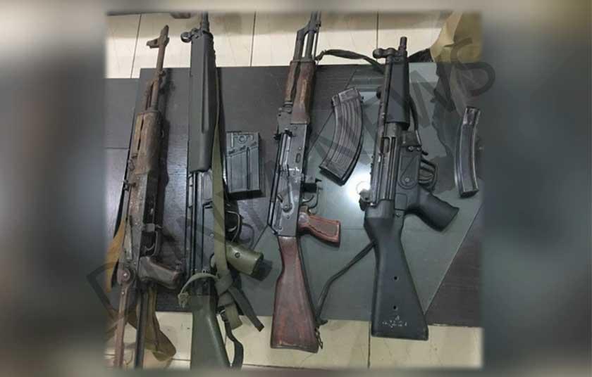 Faisal Raza Abidi Weapon