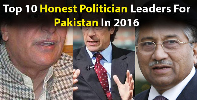 Top 10 Honest Politician