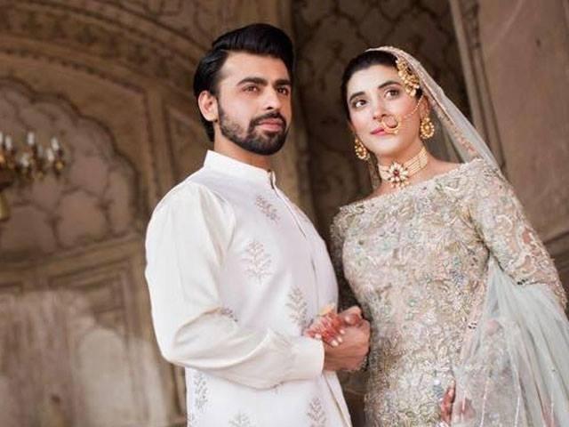 Urwa Hocane and Farhan Saeed