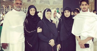 Sajal Aly performs Umrah 1