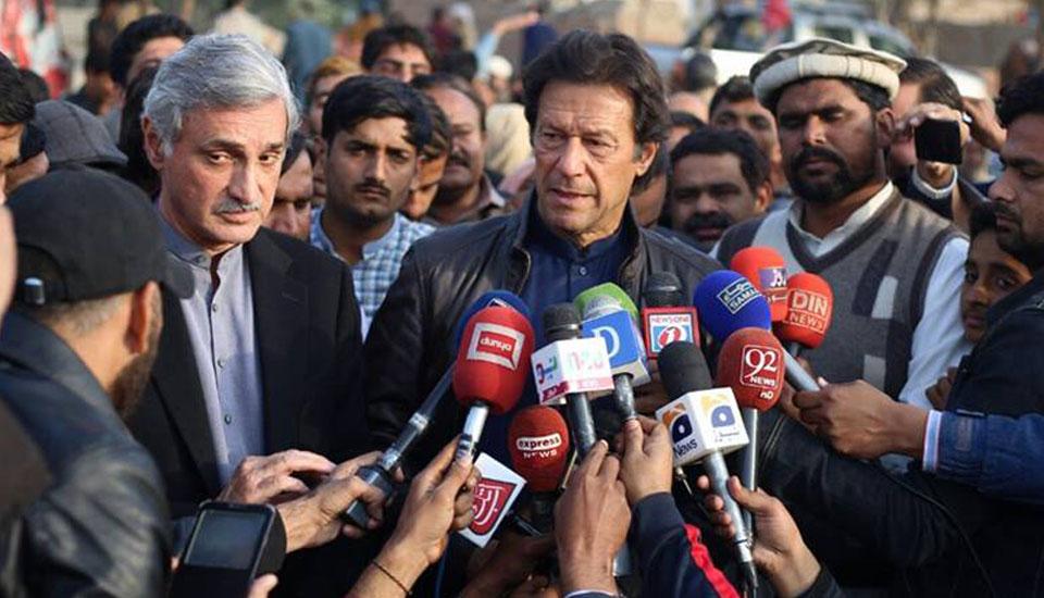 imran khan at Lodhran