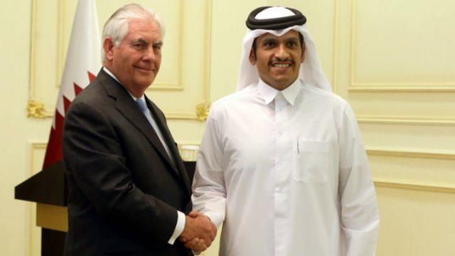 tillerson qatar