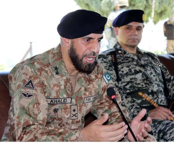 major general khalid saeed