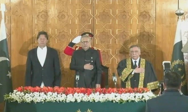 Justice Asif Saeed Khosa to take oath as CJP today