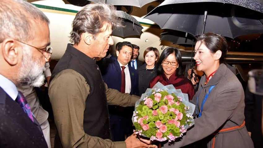 Imran khan in China
