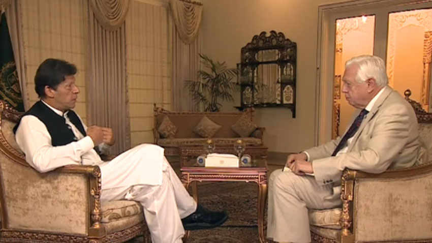 imran khan interview with BBC