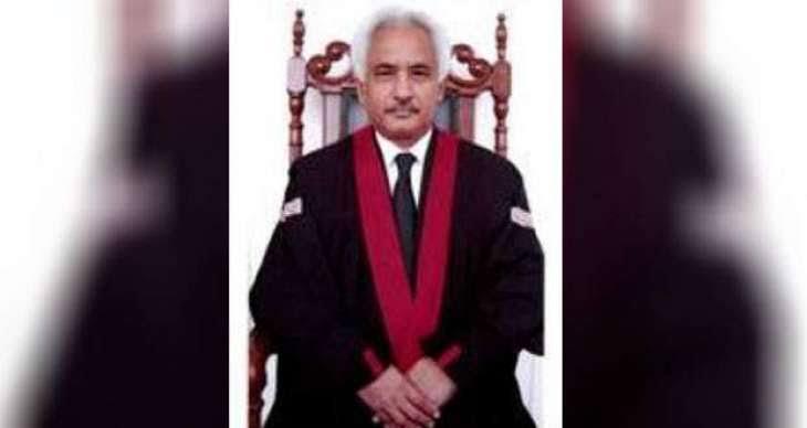 Justice Qazi muhammad Amin