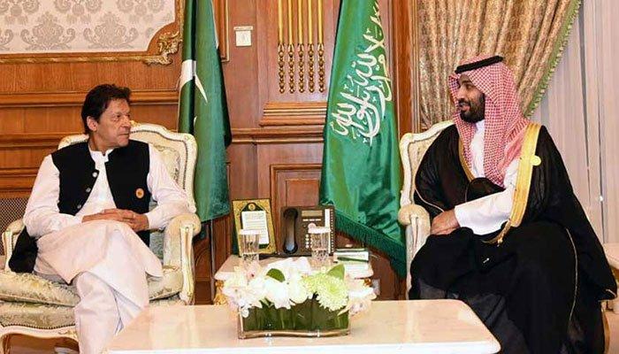 imran khan and saudi prince