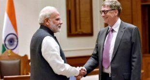 Bill Gates and Modi
