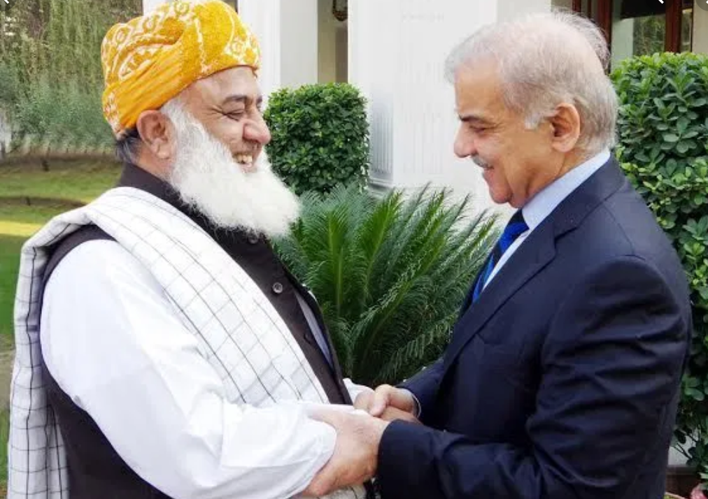 Shehbaz Sharif to meet Fazlur Rehman