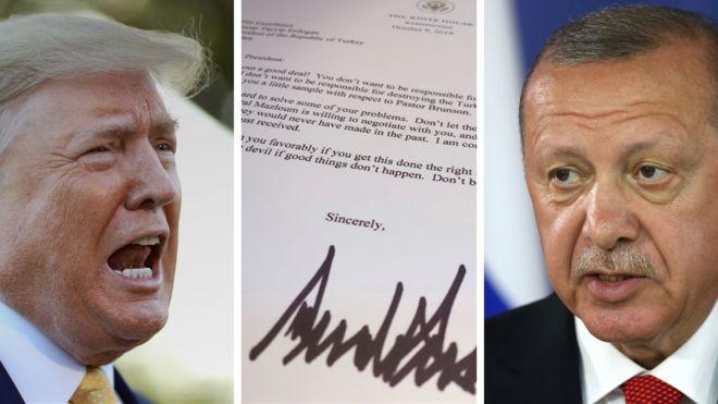 Trump letter to Erdogan