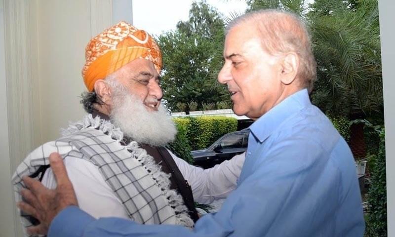 shahbaz sharif meets fazlurahman