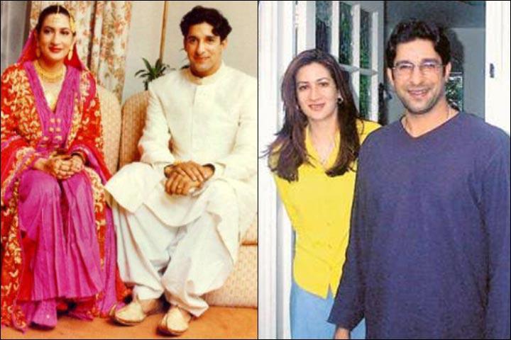 Wasim Akram first Marriage