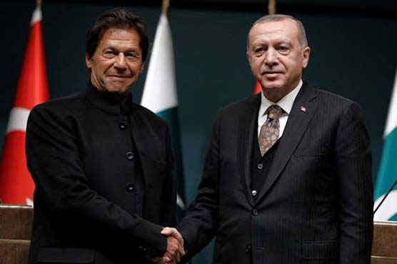 Erdogan and Imran khan