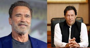 Arnold Schwarzenegger invites Imran Khan