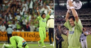 Pakistan's cricket history