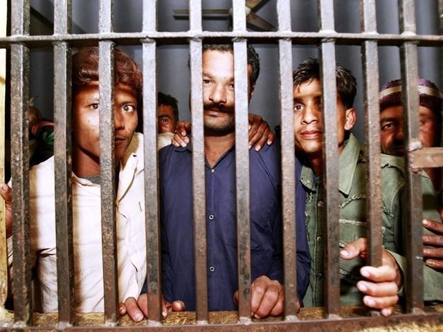 prisoners in Lahore camp jail