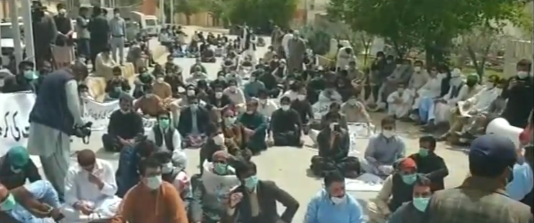 Young doctors strike quetta