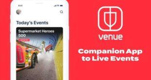 facebook venue app