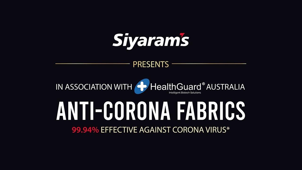 Anti-Corona Fabric
