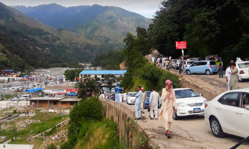 Galyat, Naran Kaghan tourists rush