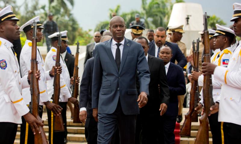 Haiti President Jovenel Moise assassinated